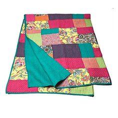 Dark turquoise 'Wedding' blanket - Throws - Bedding - Home & furniture     I wonder if could make something similar?!