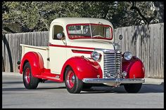 1940 Chevrolet Custom Pickup 235 CI, 5-Speed, Split Manifold. Wonderful truck! Love it when they don't cram a V8 into these great old truck. Lot's of great speed  equipment for sixes!