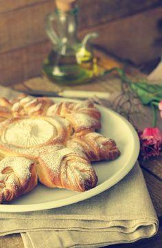 pan con queso camembert