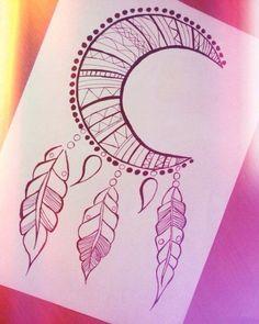 ideas drawing doodles ideas henna for 2019 Doodle Drawings, Easy Drawings, Doodle Art, Cute Drawings Tumblr, Henna Drawings, Pencil Art, Pencil Drawings, Tattoo Painting, Mandala Art