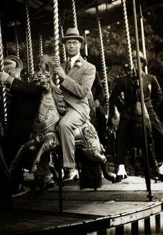 Prince Albert Bertie of York,future King Georg VI. Cookham Fair 1922
