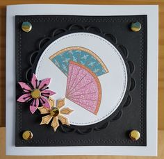 Kimono Collection by Craftwork Cards. Created by Jane Compton