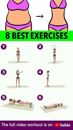 Fitness Workouts, Gym Workout Videos, Gym Workout For Beginners, Fitness Workout For Women, Sport Fitness, Mini Workouts, Beginner Yoga Workout, Full Body Gym Workout, Slim Waist Workout