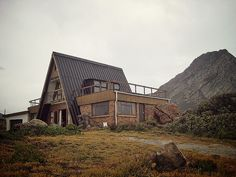 A-frame house in Rooi Els