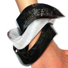 Zaha Hadid - Glace Collection - Crystal jewelry for Atelier Swarovski