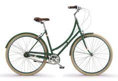PUBLIC C7i Dutch Style Bike - Green