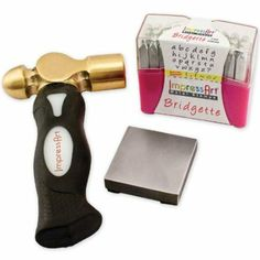 ImpressArt Metal Stamping Kit- Bridgette Lowercase