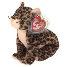 TY Beanie Baby - SNEAKY the Leopard ty plush Description Mint condition. All tags in mint condition and in place. No marks no wear she has n. Ty Beanie Boos, Beanie Babies, Ty Stuffed Animals, Stuffed Toys, Ty Plush, Ty Babies, Cute Beanies, Cuddle Buddy, Grey Dog
