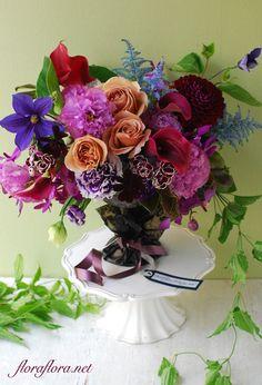 5月のレッスン ロマンティックなFlora*2的男前な花たち 東京目黒不動前フラワースクールフローラフローラちいさな花の教室*Tokyo*FlowerStudioFLORAFLORA