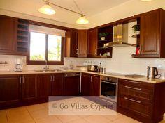 Fully equipped kitchen at Holiday Villa Mediterranean Blue - 2655