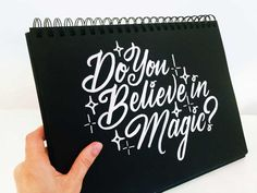 Yes I do! Something To Believe In 51 #typography #lettering