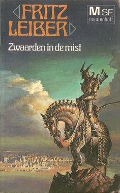 Fritz Leiber - Zwaarden in de mist (Meulenhoff:1975) | cover art by Bruce Pennington