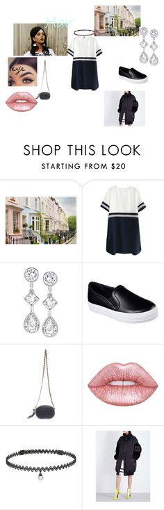 """""""In Dinner TONIGHT"""" by danmoreira4 ❤ liked on Polyvore featuring Moschino, WALL, Swarovski, Skechers, Lime Crime, BERRICLE, Puma, polyvorefashion, polyvoreset and PolyvoreMostStylish"""