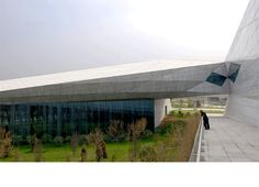 Preston Scott Cohen, Inc. - Taiyuan Museum of Art - Construction