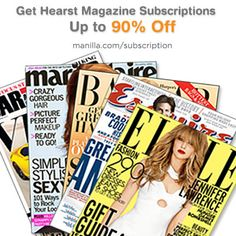 Manilla Subscription For 90 Off Hearst Magazine Subscriptions