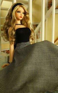 """Proper Lady by OldGeekWoman Barbie Gowns, Barbie Dress, Beautiful Barbie Dolls, Pretty Dolls, Dolly Fashion, Fashion Dolls, Photoshop, Cute Girl Hd Wallpaper, Barbies Pics"