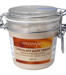 Chocolate Body Cream Nirvana Spa