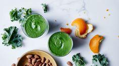 Almond, Kale, and Banana Smoothie Recipe | Bon Appetit