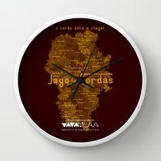 "Vaca - MP: ""Jogo das Cordas"". Wall Clock"