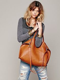Free People Slouchy Vegan Tote ***To have made out of my reserve of deer suede