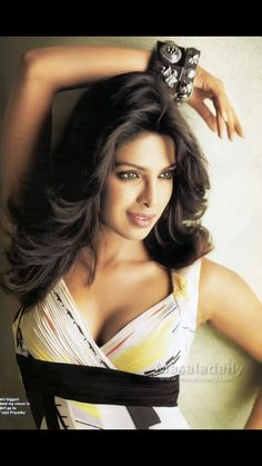 Priyanka Chopra. Hair & makeup