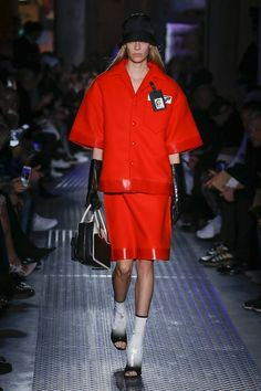 See the full Fall 2018 menswear collection from Prada.
