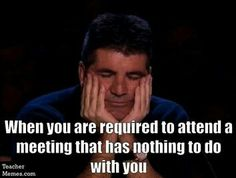 Inservice Day Meetings