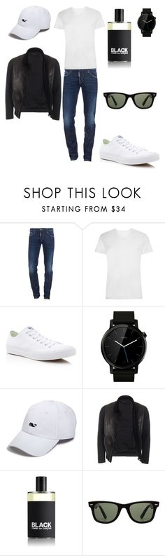 """""""Night out with the guys"""" by morgan-vanderydt on Polyvore featuring Dsquared2, Converse, Motorola, Vineyard Vines, Gucci, Comme des Garçons, Ray-Ban, men's fashion and menswear"""