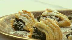Hajtott hájas Hungarian Cuisine, Hungarian Recipes, Hungarian Food, Spanakopita, Sweet And Salty, Cheesesteak, Apple Pie, Nutella, Food And Drink