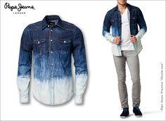 """#Koszula #PepeJeans Truxton """"Denim 000"""""""