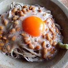 バカ旨‼︎‼︎(笑) - 141件のもぐもぐ - 応用編、納豆玉子蕎麦‼︎ by giacometti1901