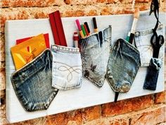 What to do with old jeans? - 4 DIY ideas for recycling denim jeans