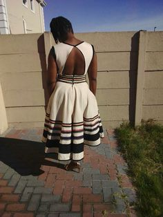 #Umbaco Xhosa Tradional Wear African Outfits, African Wear, African Fashion Dresses, African Style, African Dress, Xhosa Attire, Zulu, African Prints, Traditional Wedding