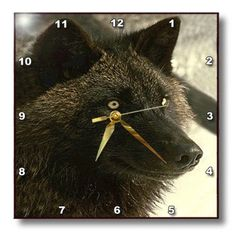 Special Offers - dpp_723_2 Wild animals  Tundra Wolf  Wall Clocks  1313 Wall Clock - In stock & Free Shipping. You can save more money! Check It (August 03 2016 at 05:53PM) >> http://wallclockusa.net/dpp_723_2-wild-animals-tundra-wolf-wall-clocks-13x13-wall-clock/