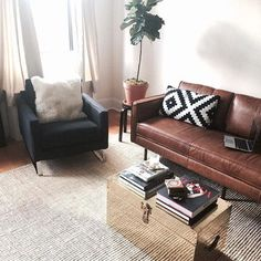 west elm sofa!
