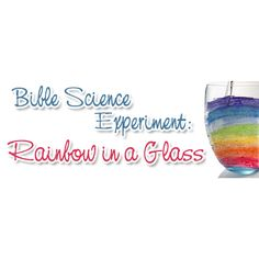 The rainbows associated with St. Patrick's Day often have a pot of gold at the other end. They are signs of hope. Biblically, rainbows are signs of hope and God's promises. This rainbow, created with a glass and a flashlight, can help student's
