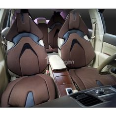 Advance Design Space Capsule Seat Style Coffee Custom Car Seat Covers