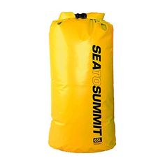 """Get more discounts! Click the pin Camping Kitchen :""""Sea To Summit Stopper Dry Bag Yellow : 65L"""" * at this Camping Kitchen board"""