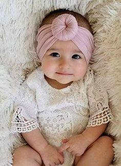 Nylon Round Top Knot Headwrap Headband - Nylon Baby headbands 3da3a7ebcd9