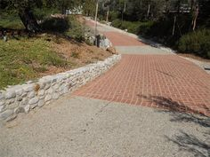 Brick ,Driveway Landscaping idea