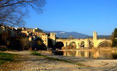 Exploring the Medieval Village of Besalu