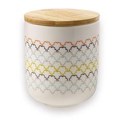 Porseleinen pot Ecailles M / Pot en porcelaine Ecailles M / Porcelain pot Ecailles M