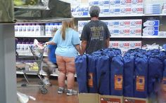 Full Moon at Walmart
