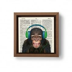 Gravura Macaco Surdo