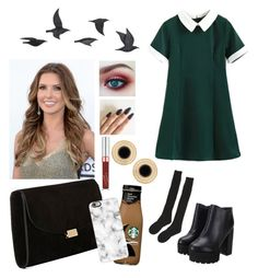 """Casual outfit #134"" by annalia-galvan on Polyvore featuring Samantha Holmes, Mansur Gavriel, Casetify and Jayson Home"