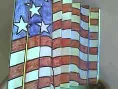 Memorial day, Veterans Day and other patriotic holidays/events art projects for kids to include collaboration and individual ideas for teachers and students Classroom Art Projects, Art Classroom, Projects For Kids, Classroom Ideas, Jasper Johns, Flag Art, Kinetic Art, History Projects, Veterans Day