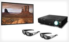 Groupon - Sharp 1080p HD 3D-Capable DLP Projector with Option for 106-Inch Screen (70% Off). Free Shipping. in Online Deal. Groupon deal price: $1499.00