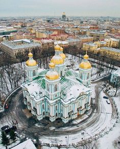 Saint Nicholas cathedral, Saint Petersburg, Russia