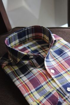 dreamsofperfection:  Ring Jacket madras shirt