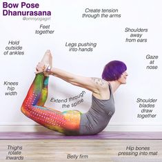 Spine Drawing, Yoga Movement, Bow Pose, Yoga Lessons, Yoga School, Hip Bones, Tai Chi, How To Do Yoga, Yoga Fitness